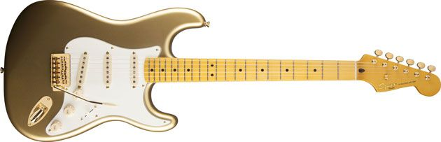 Squier Introduces Eva Gardner Precision Bass and 60th Anniversary Classic Vibe '50s Stratocaster