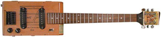 Will Ray's Bottom Feeder: Churchill Cigar Box Guitar