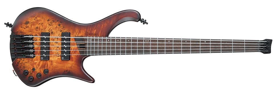 Ibanez EHB 1505 5-string bass review homepage