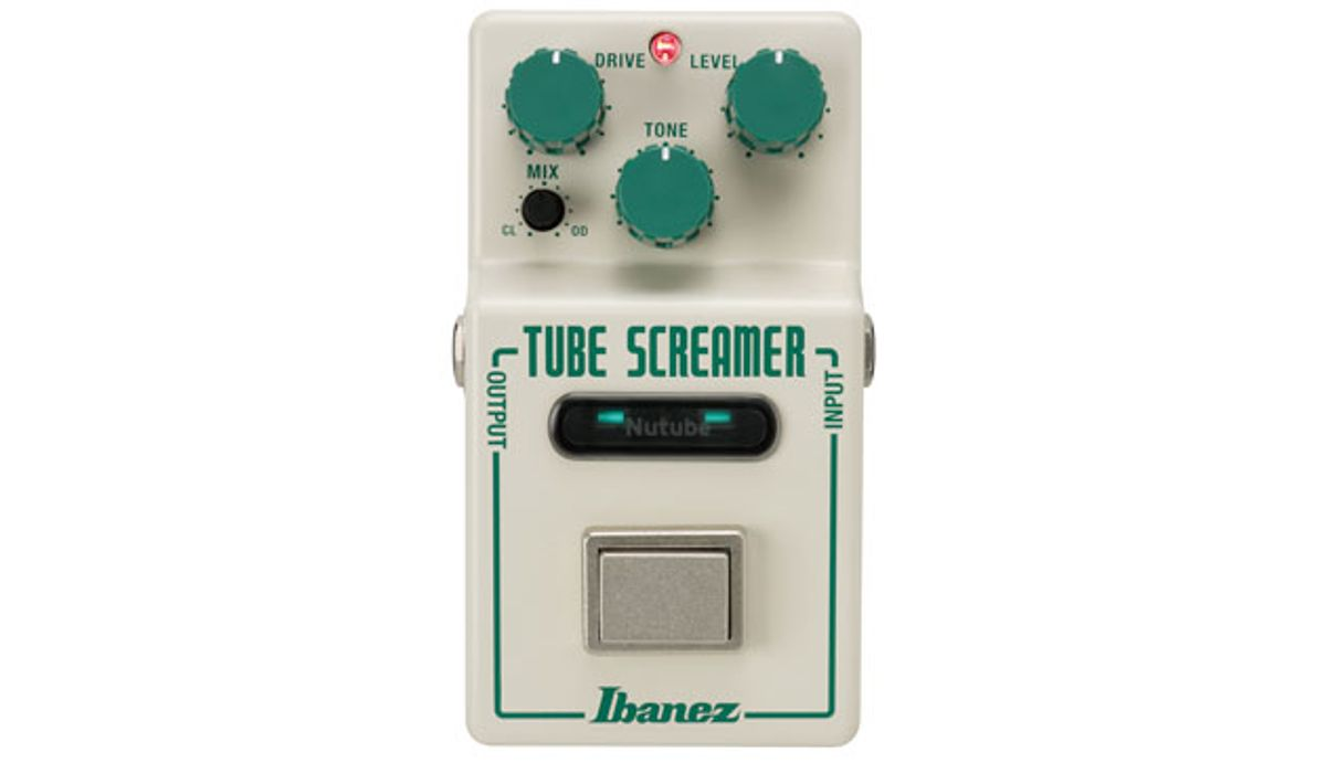 Ibanez Launches the Nu Tube Screamer