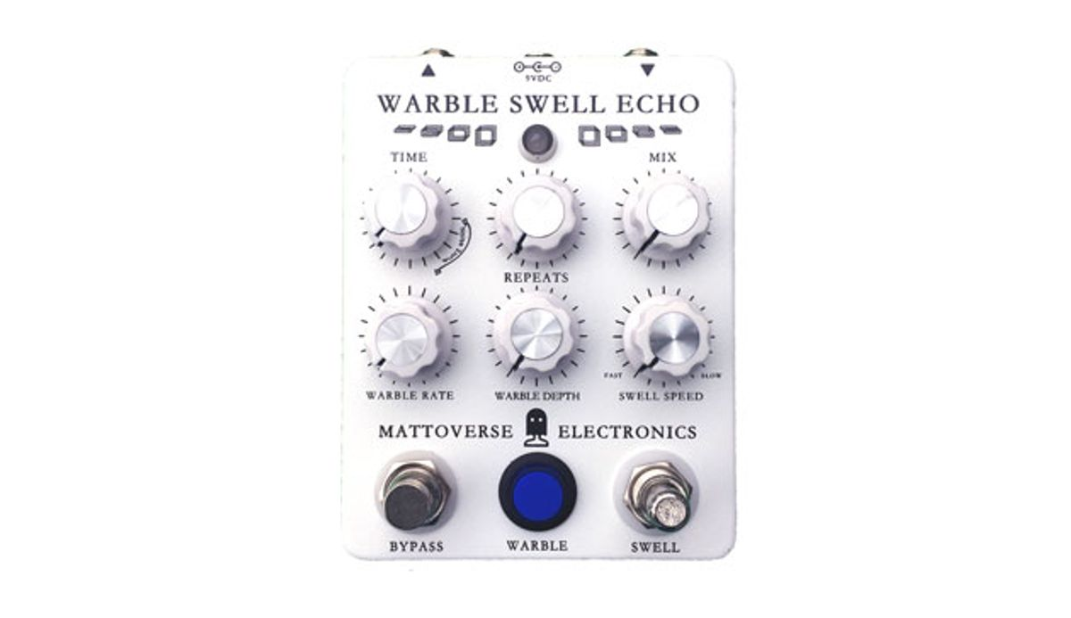 Mattoverse Electronics Unveils the Warble Swell Echo