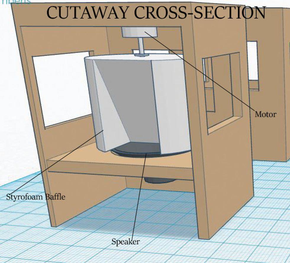 leslie speaker cabinet plans cabinets matttroy. Black Bedroom Furniture Sets. Home Design Ideas