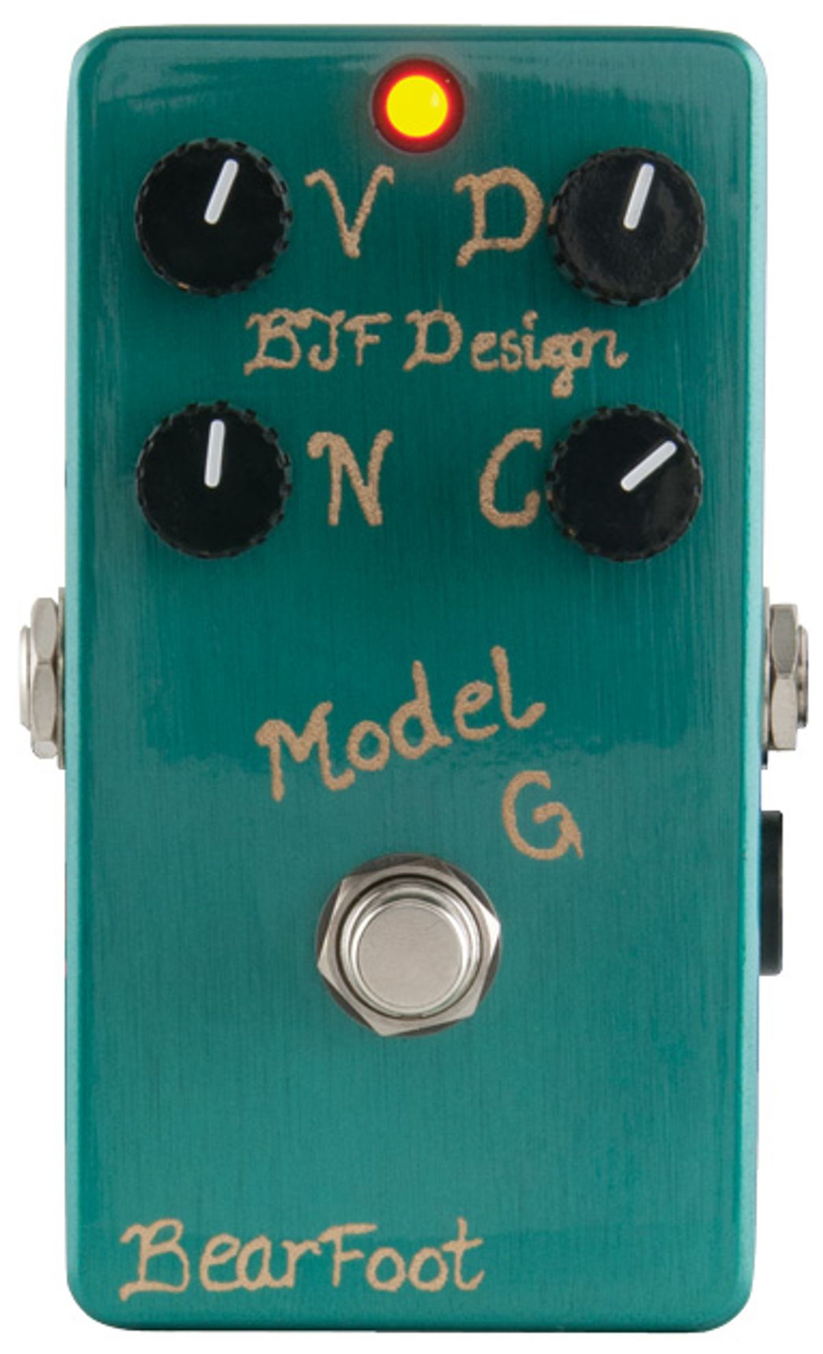 BearFoot Effects Model G Overdrive Review