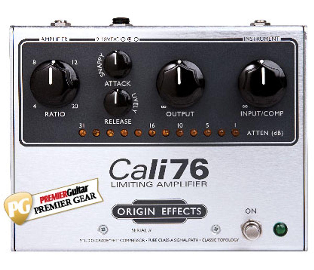 Origin Effects Cali76 Limiting Amplifier Review