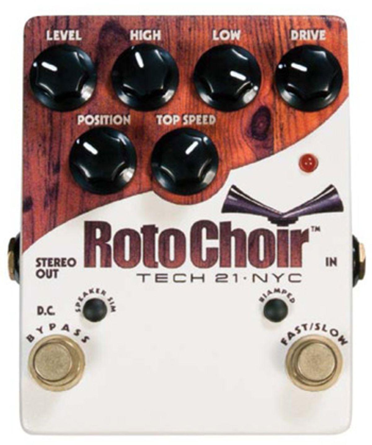 Tech 21 Roto Choir Pedal Review