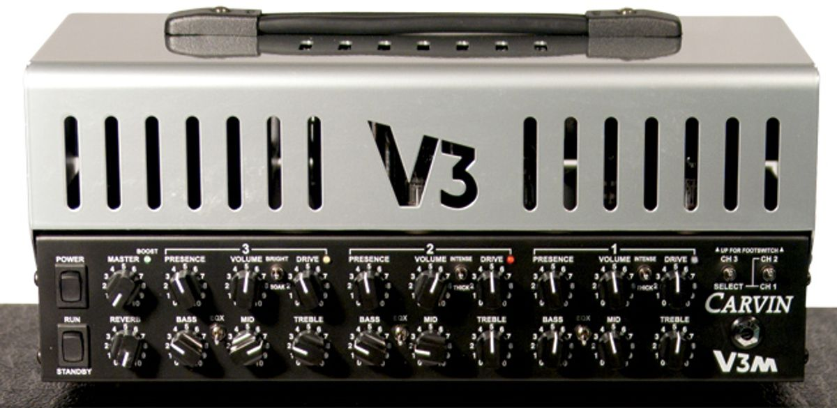 Carvin V3M Micro Head Amp Review
