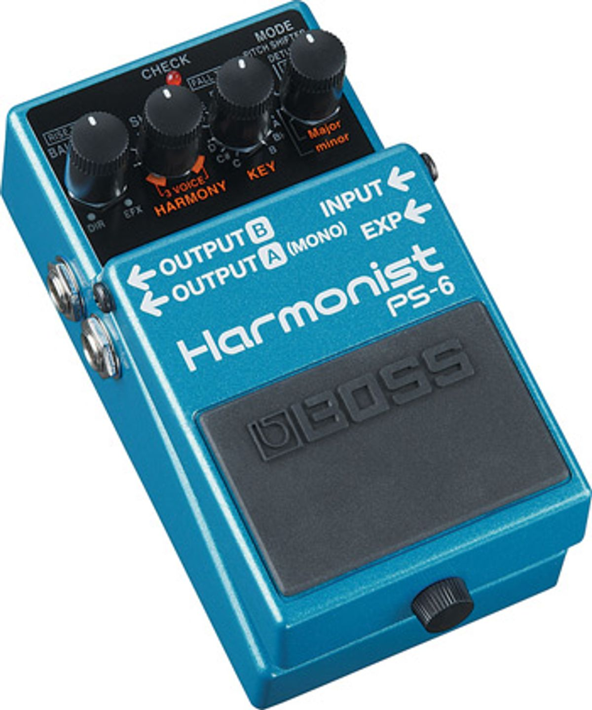 Boss Introduces PS-6 Harmonist Pedal