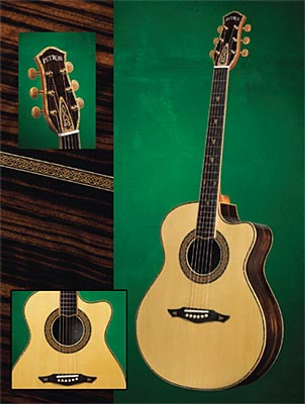 Petros Guitars: The Celt