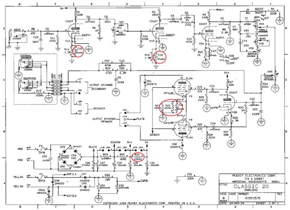 peavey renown footswitch wiring diagram peavey speaker