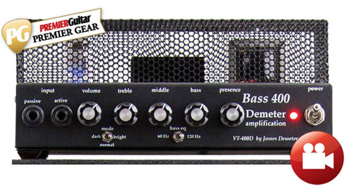 Demeter Bass 400 Amp and BSC-310 Cab Review