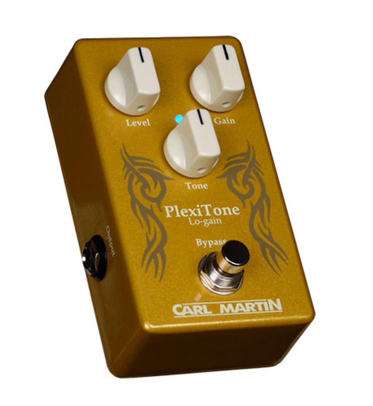 Carl Martin Releases the Plexitone Lo-Gain