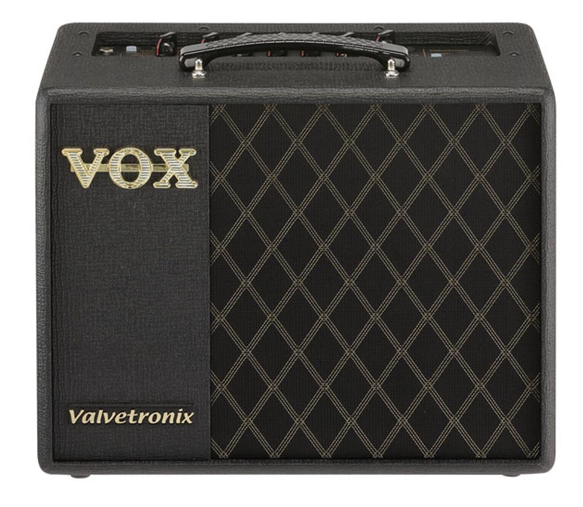 Vox Announces the VT20X, VT40X, and VT100X Amplifiers