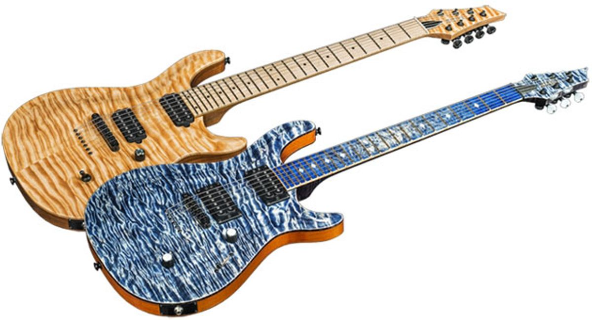 Kiesel and Carvin Guitars Custom Shop Introduces Chambered Body Option