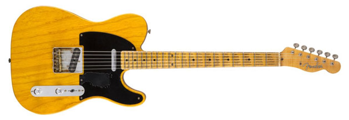"Fender Custom Shop Announces the Mike Campbell ""Heartbreaker"" Guitar"