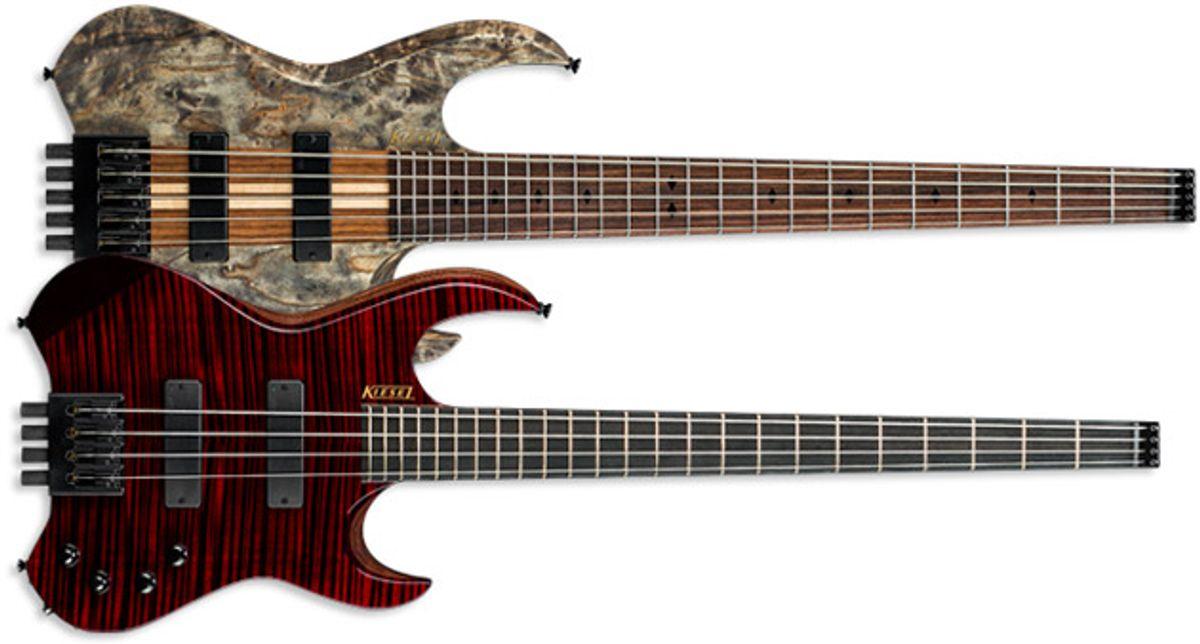 Kiesel Guitars Announces Vader Series Headless Basses