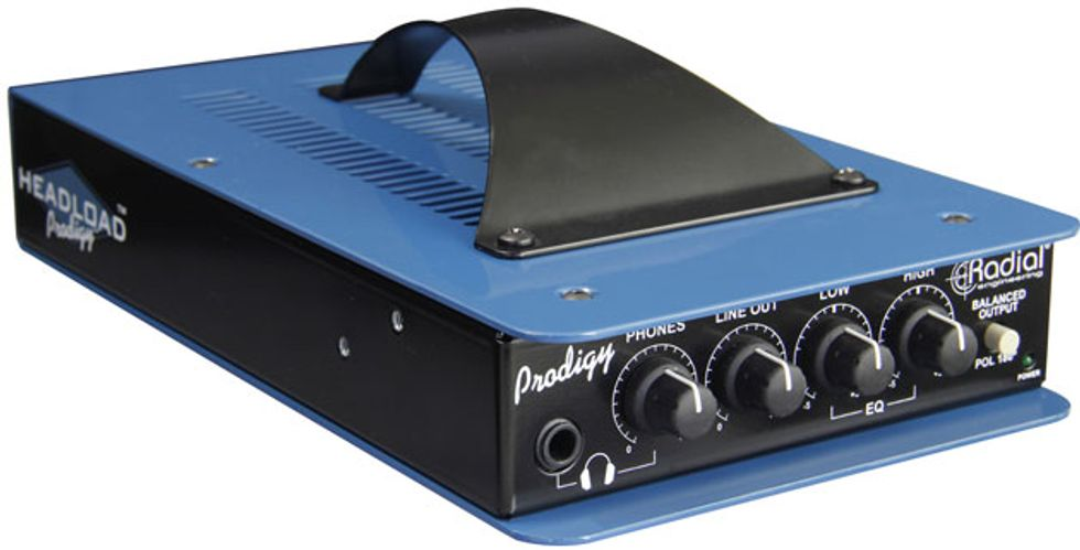 radial engineering releases the headload prodigy premier guitar. Black Bedroom Furniture Sets. Home Design Ideas
