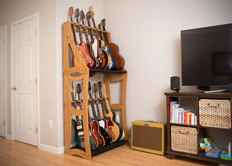 High Quality Elk Grove, CA (October 22, 2015)    DRS Racks Is Proud To Announce The  Return Of Our Newly Redesigned Modular, Stringed Instrument Storage System.