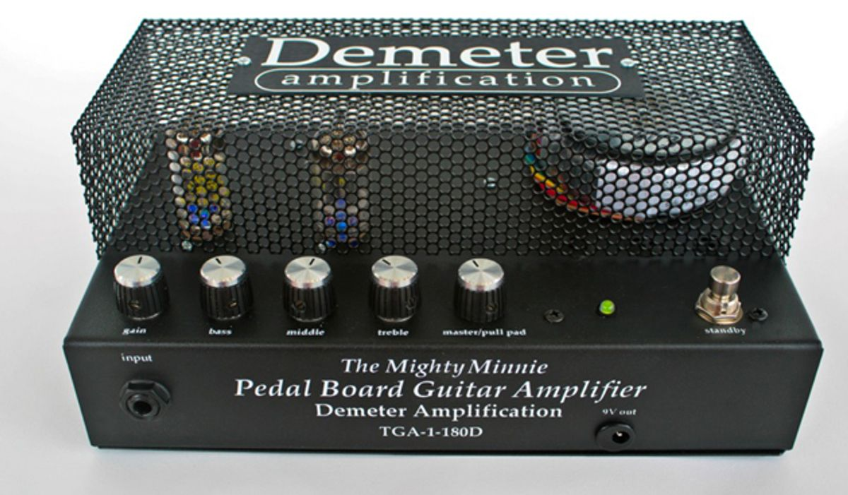 Demeter Announces the Mighty Minnie Pedalboard Amp