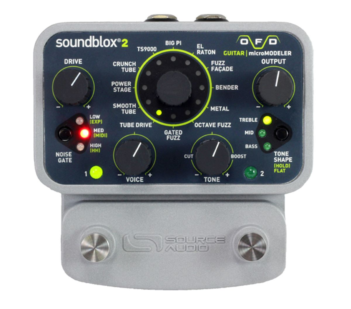 Source Audio Releases Soundblox 2 OFD Micromodelers for Guitar and Bass