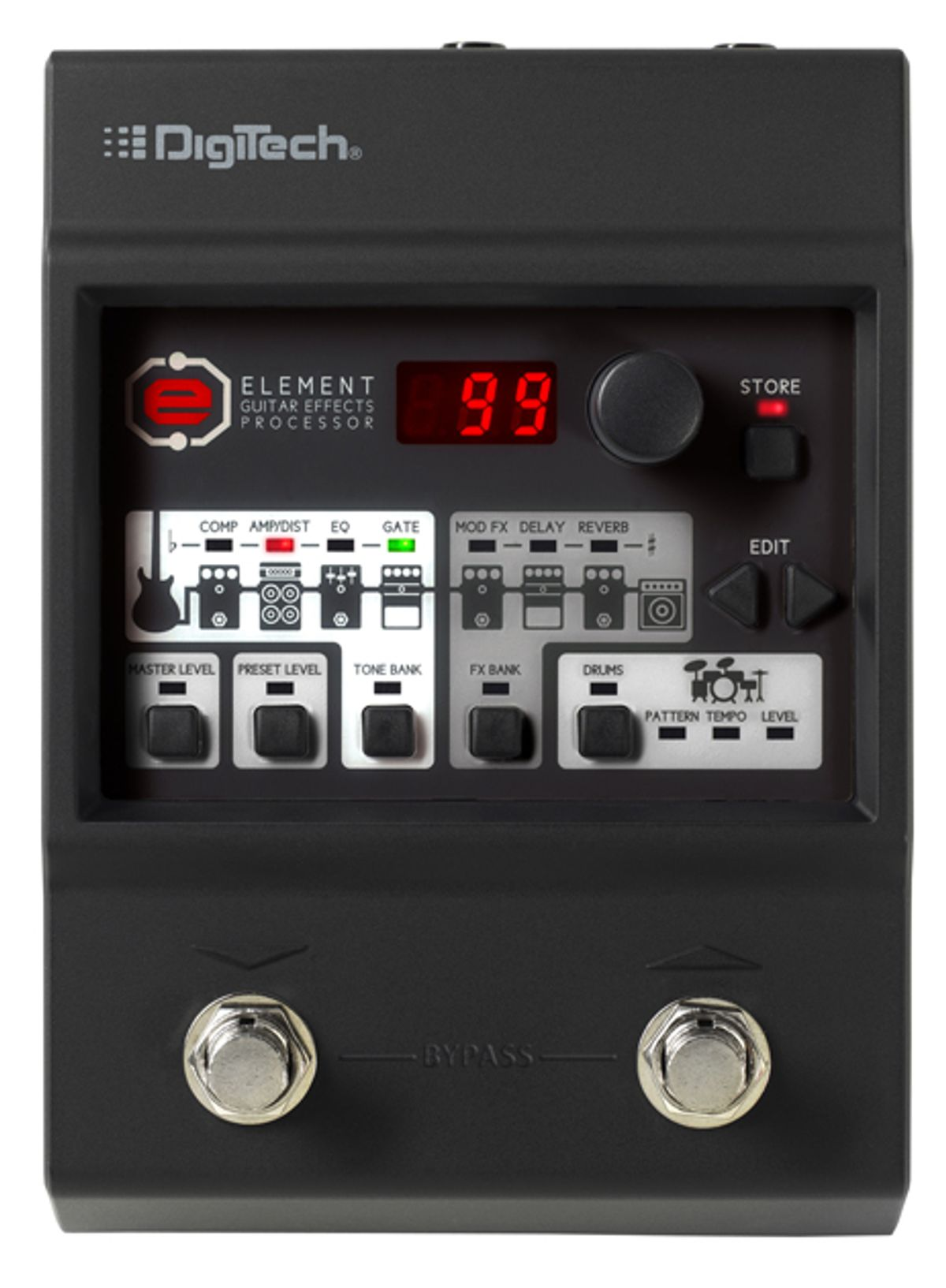 DigiTech Introduces Element XP and Element Guitar Multi-Effects Pedals