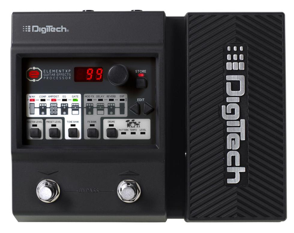 digitech introduces element xp and element guitar multi effects pedals 2013 09 23 premier guitar. Black Bedroom Furniture Sets. Home Design Ideas