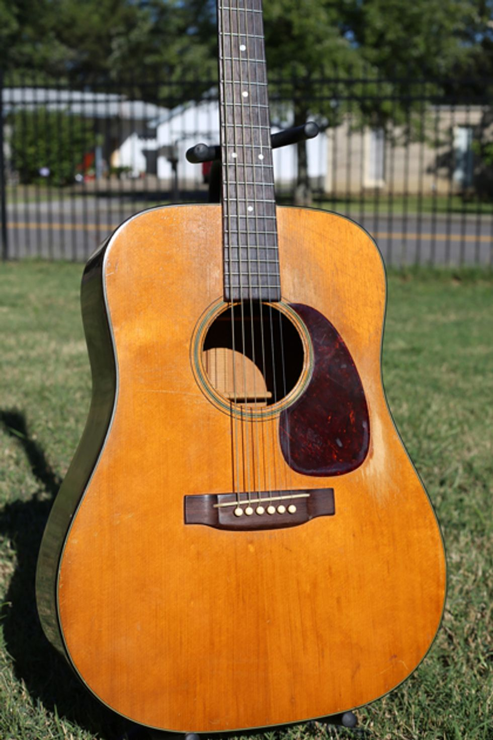 How Much An Acoustic Guitars Tone Changes Due To Age And Playing Is A Subject Of Debate But Surely This 1946 Martin D 18 Sounds Different Today From When