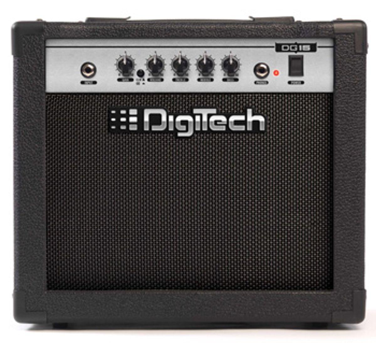 DigiTech Ships 15-Watt Guitar and Bass Combo Amps