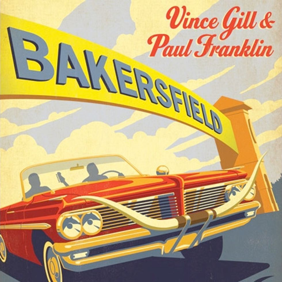 "Vince Gill and Paul Franklin - ""Bakersfield"""