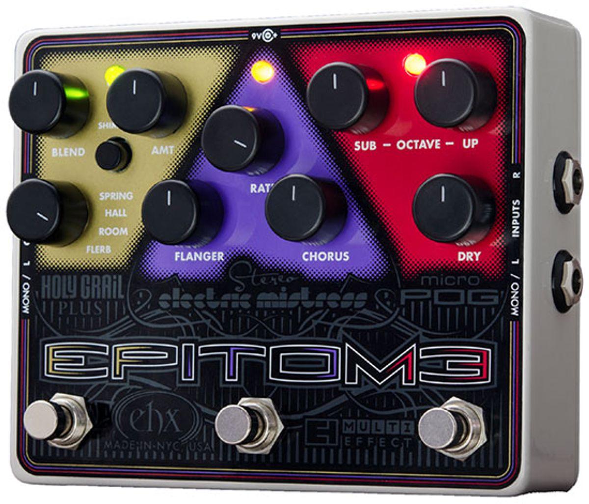 Electro-Harmonix Epitome Pedal Review & Demo