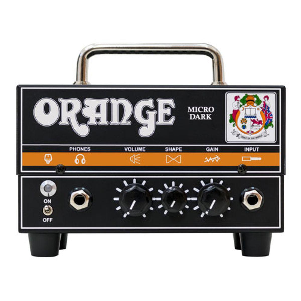 Orange Amps Unveils the Micro Dark