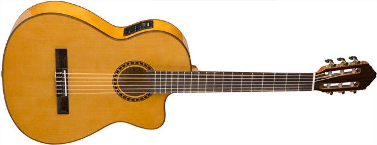 Lucero Introduces Line of Classical and Flamenco Guitars
