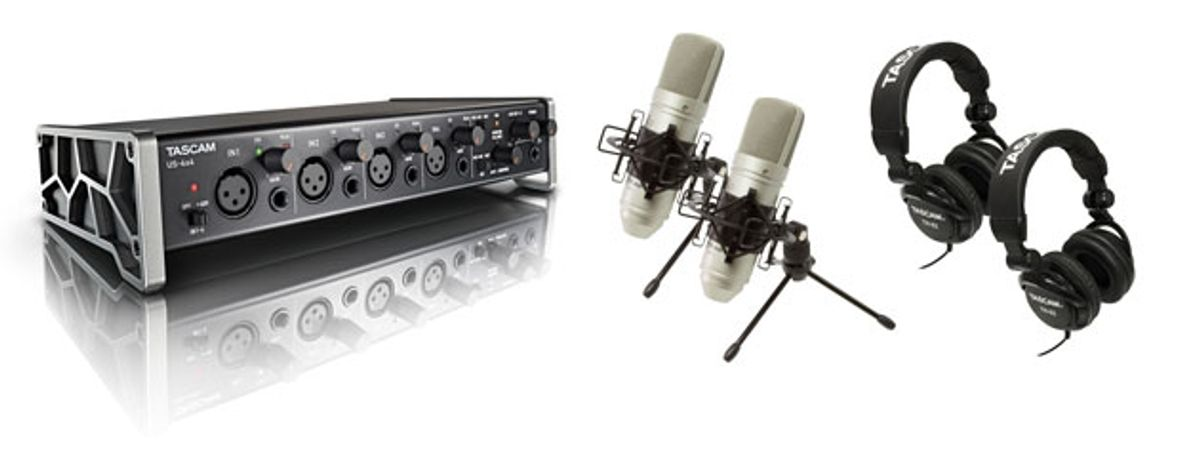 TASCAM Introduces the Trackpack 4x4