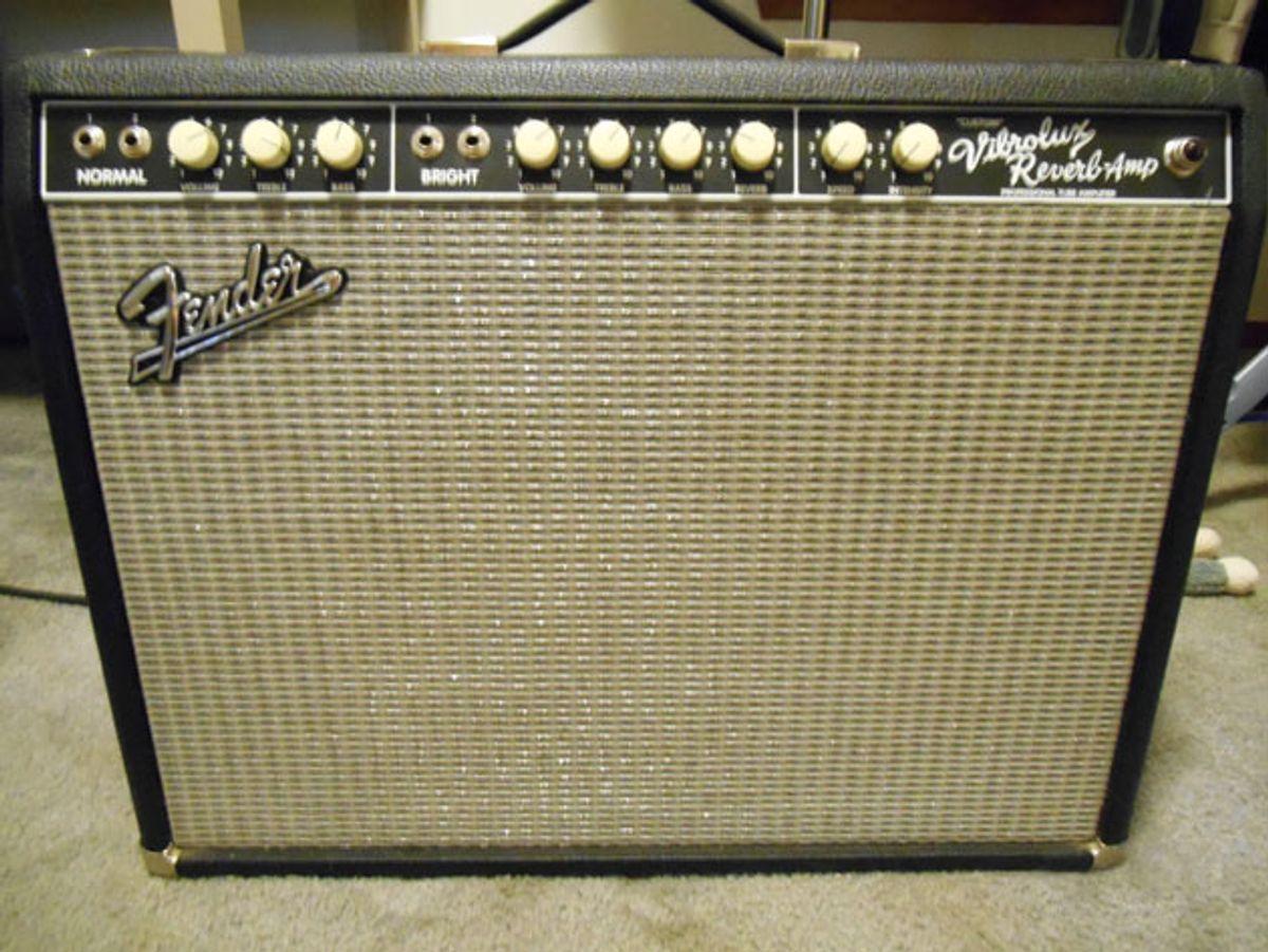 Ask Amp Man: Upgrading a Fender Custom Vibrolux Reverb