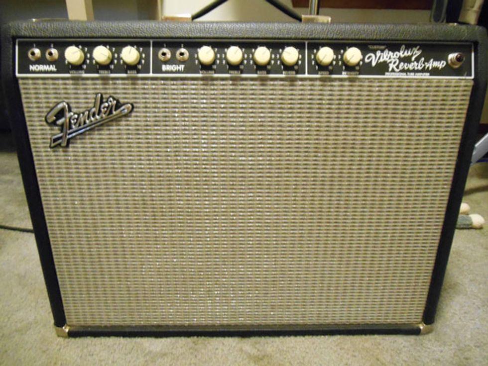 ask amp man upgrading a fender custom vibrolux reverb premier guitar. Black Bedroom Furniture Sets. Home Design Ideas