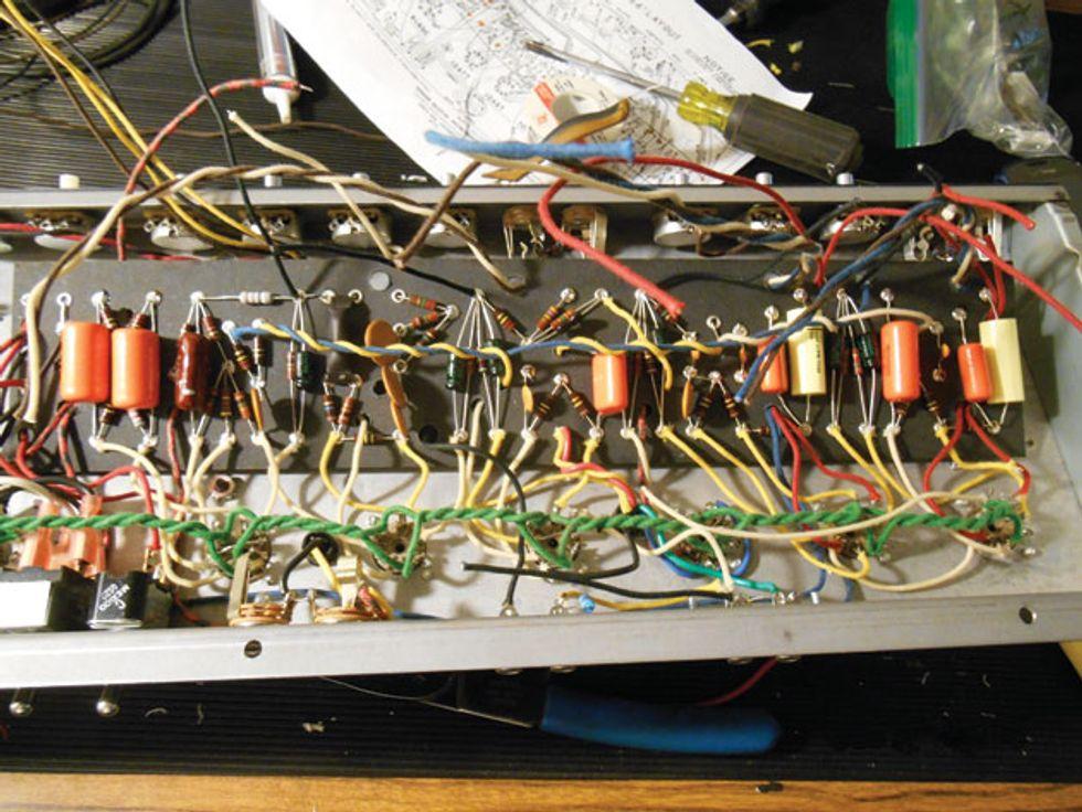 Ask Amp Man: Upgrading a Fender Custom Vibrolux Reverb | Premier GuitarPremier Guitar