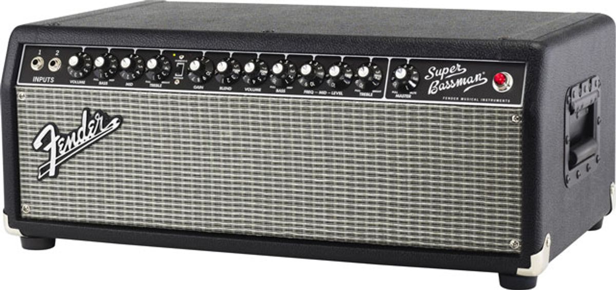 Fender Introduces Bassman Pro Series Heads and Cabinets