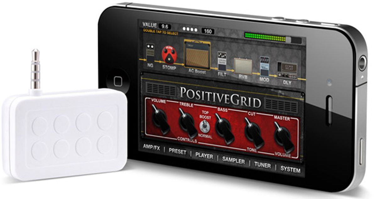 JamUp Multi-Effect App for iPad and iPhone Launched