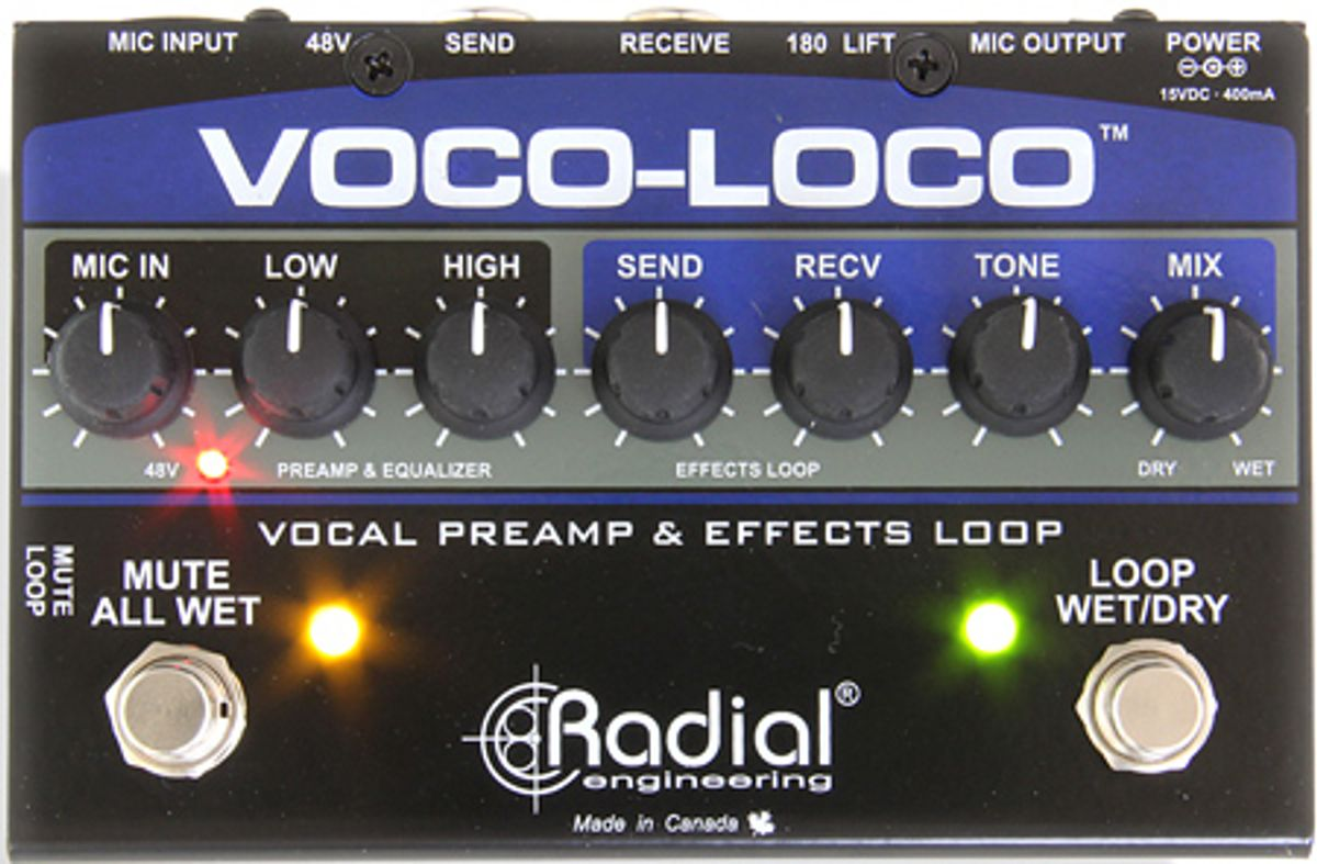 Radial Introduces New Products at Winter NAMM