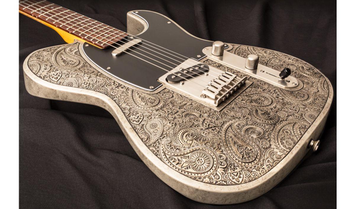 Dean Zelinsky Guitars Announces the Paisley Dellatera