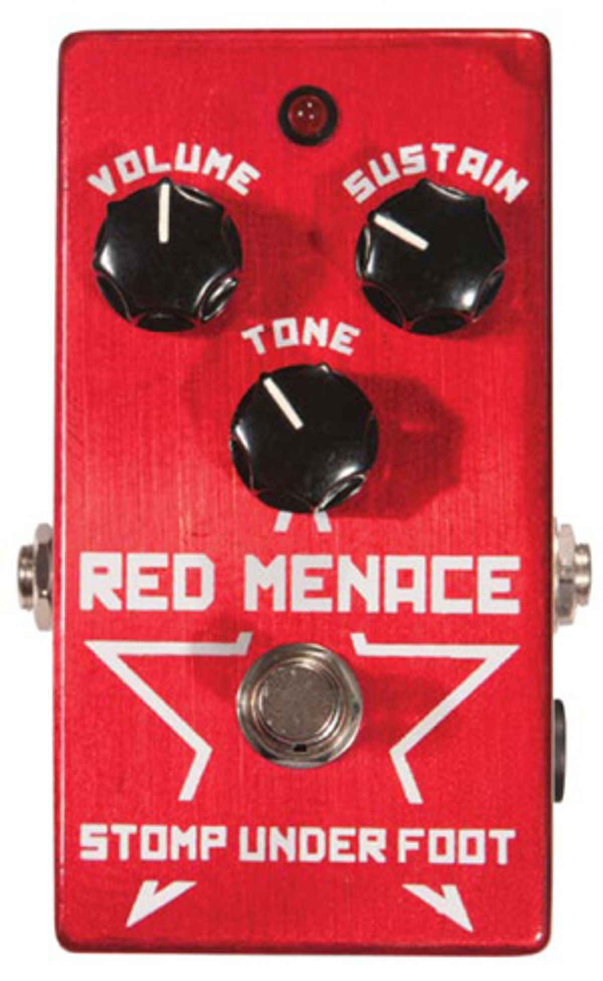 Stomp Under Foot Red Menace Pedal Review