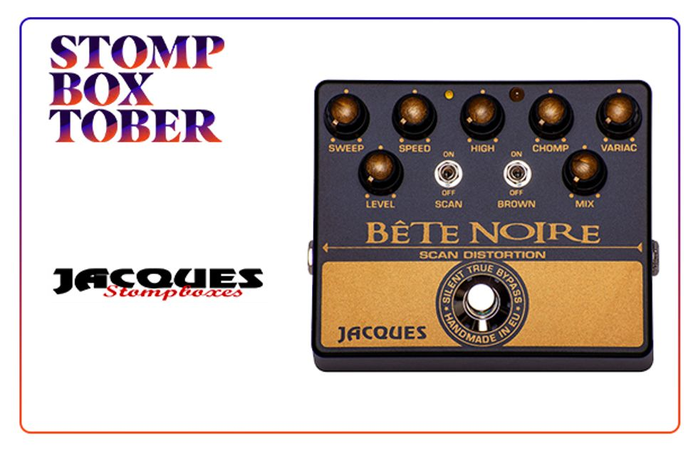 Stompboxtober 2018 Day #8: Jacques Pedals | 2018-10-07 | Premier Guitar