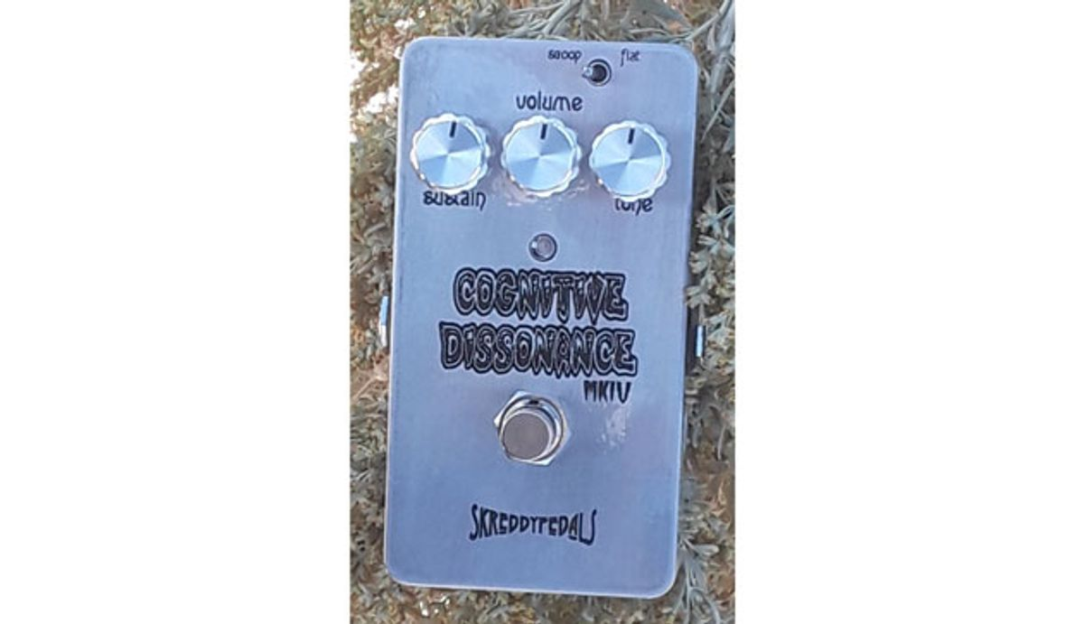 Skreddy Pedals Issues the Cognitive Dissonance MkIV