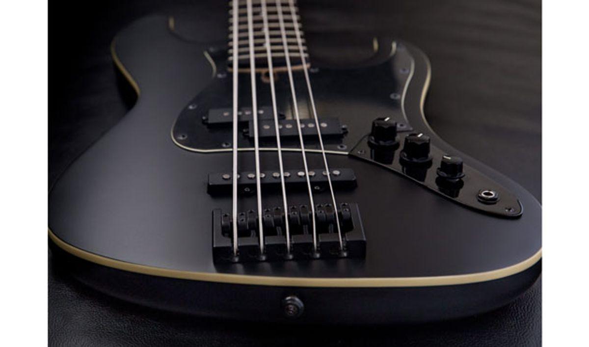 Jericho Guitars Announces the Alpha 5 Bass