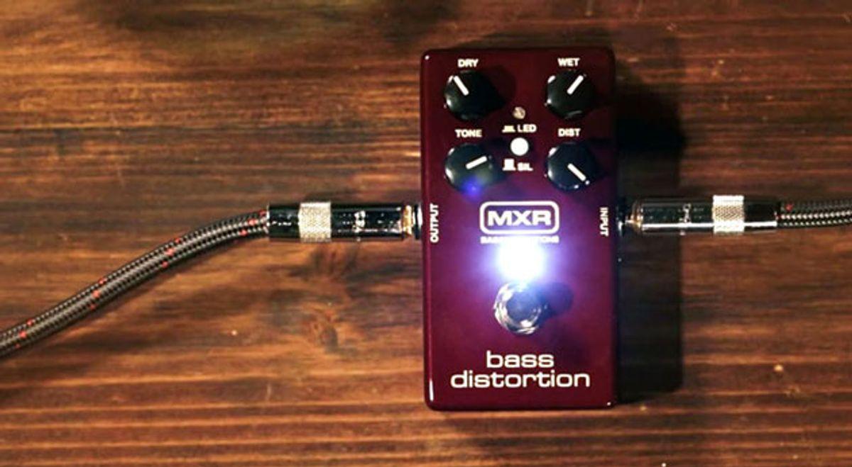 Dunlop Releases the MXR Bass Distortion