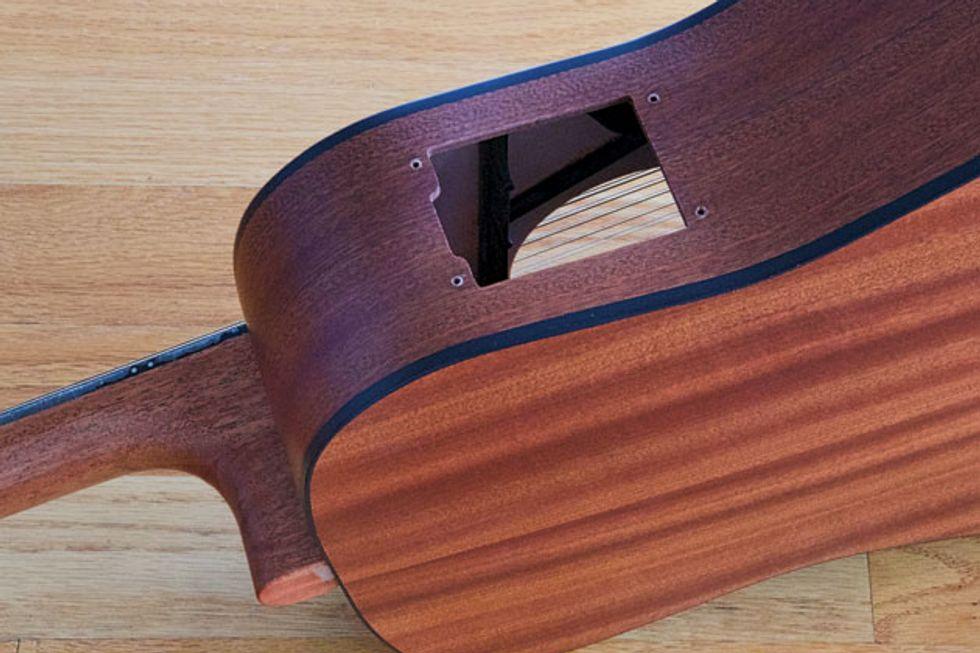 acoustic soundboard putting recently outdated guitars to work premier guitar. Black Bedroom Furniture Sets. Home Design Ideas