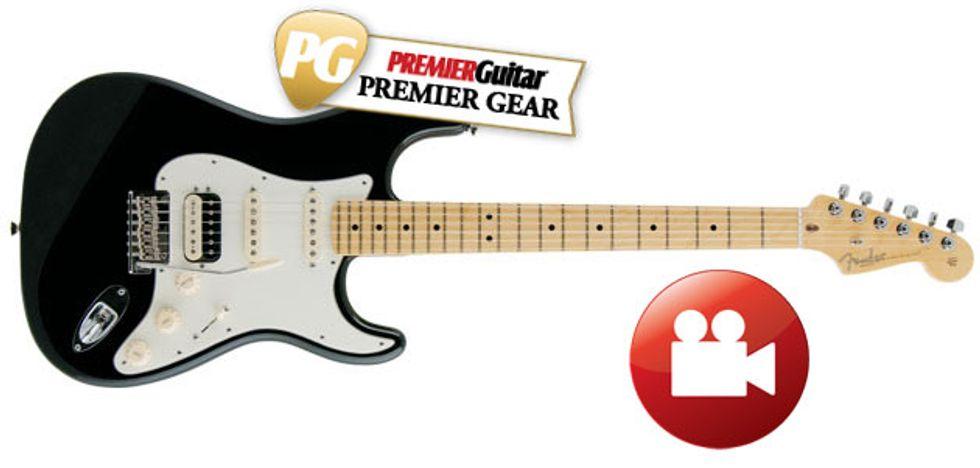 fender american standard stratocaster hss shawbucker review premier guitar. Black Bedroom Furniture Sets. Home Design Ideas