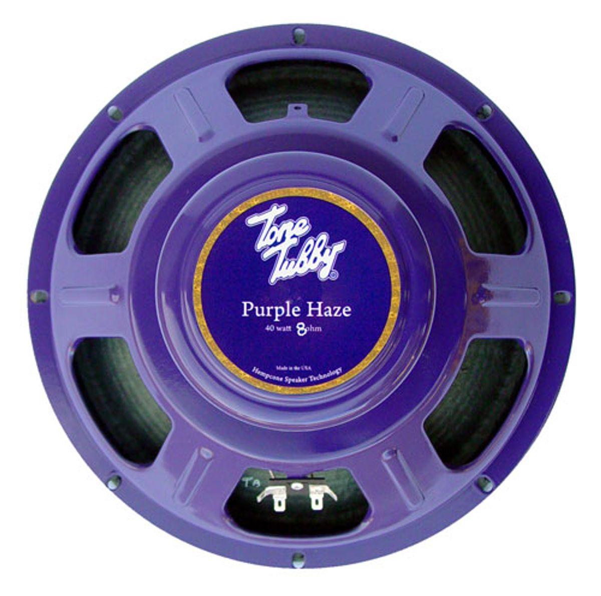 Tone Tubby Speakers Announces the Purple Haze