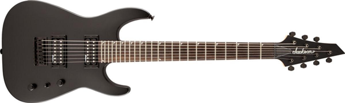 Jackson Guitars Introduces New 7- and 8-String Models