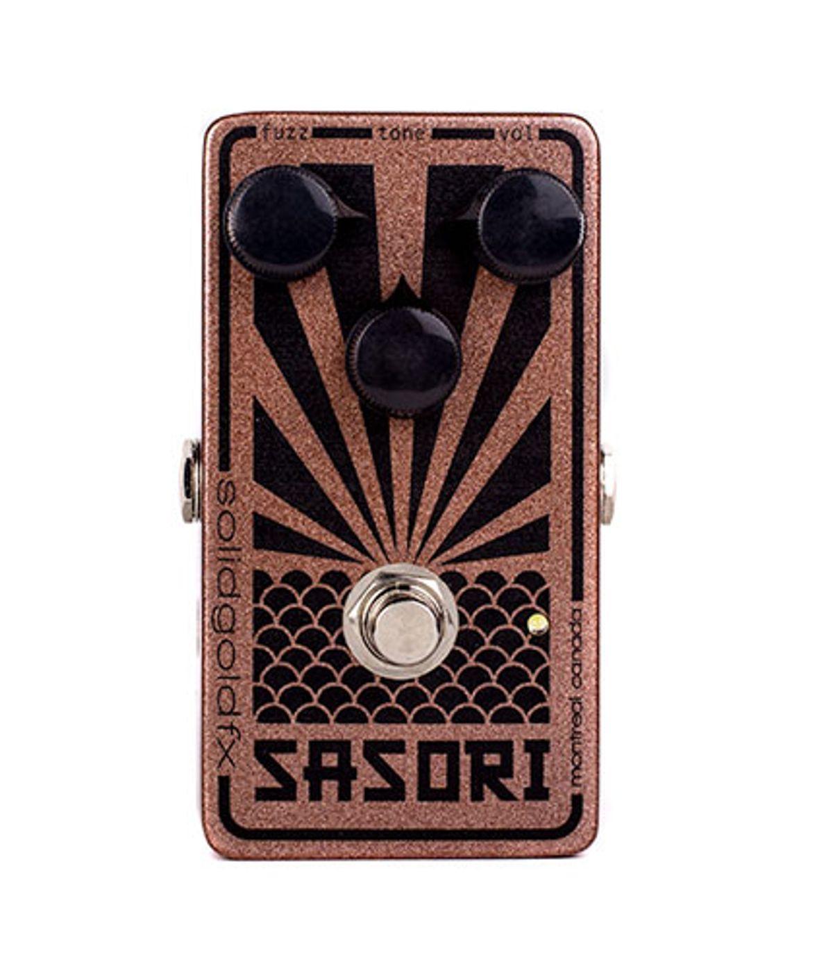 SolidGoldFX Releases the Sasori Fuzz