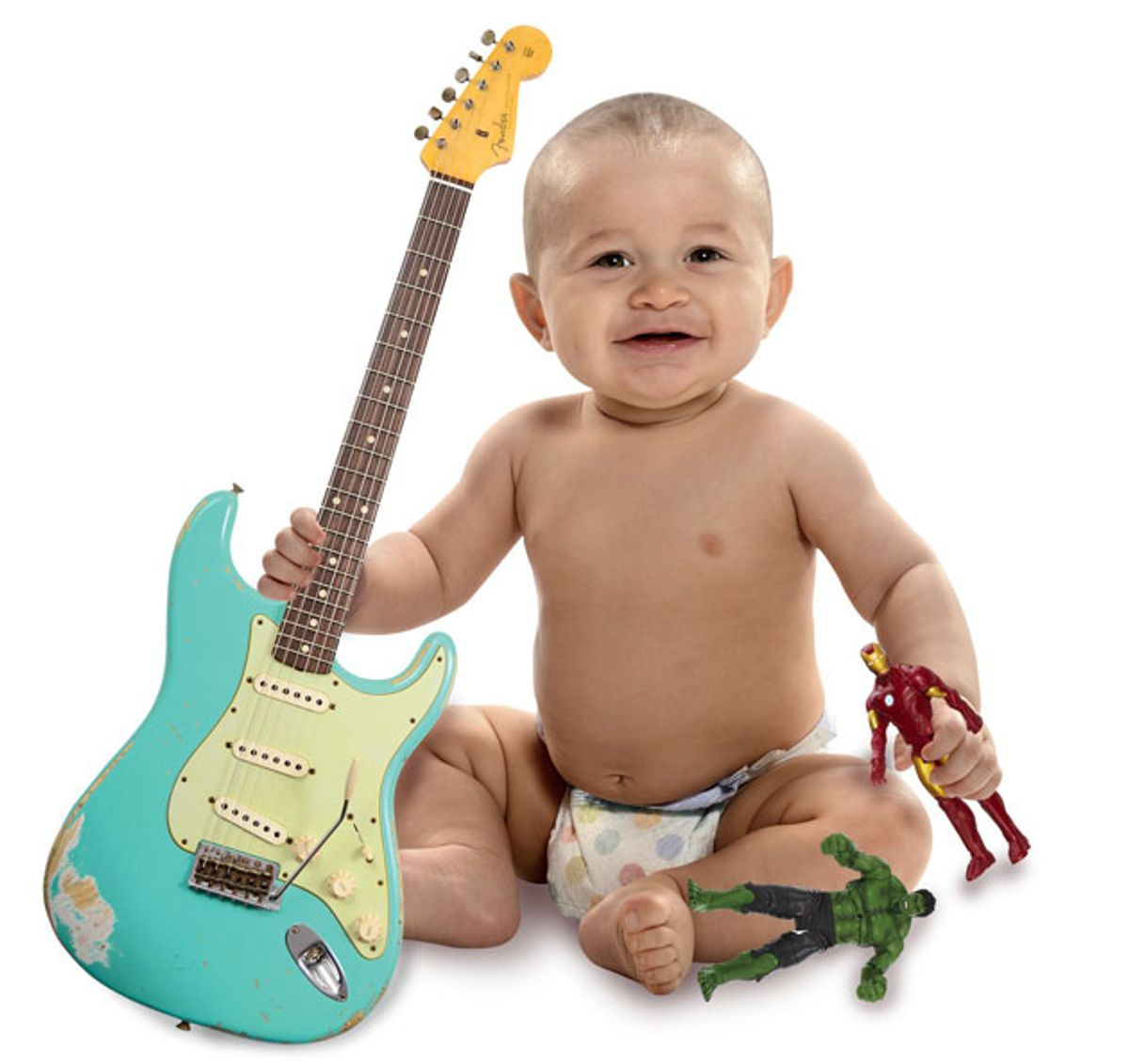 "Tuning Up: The Infantilization of Guitar (or ""Hulk Fight Robot. Hulk RAD!"")"